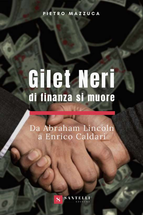 Gilet neri, Pietro Mazzuca - coverfront