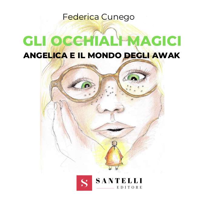 Angelica e il mondo degli Awak, Federica Cunego - coverfront