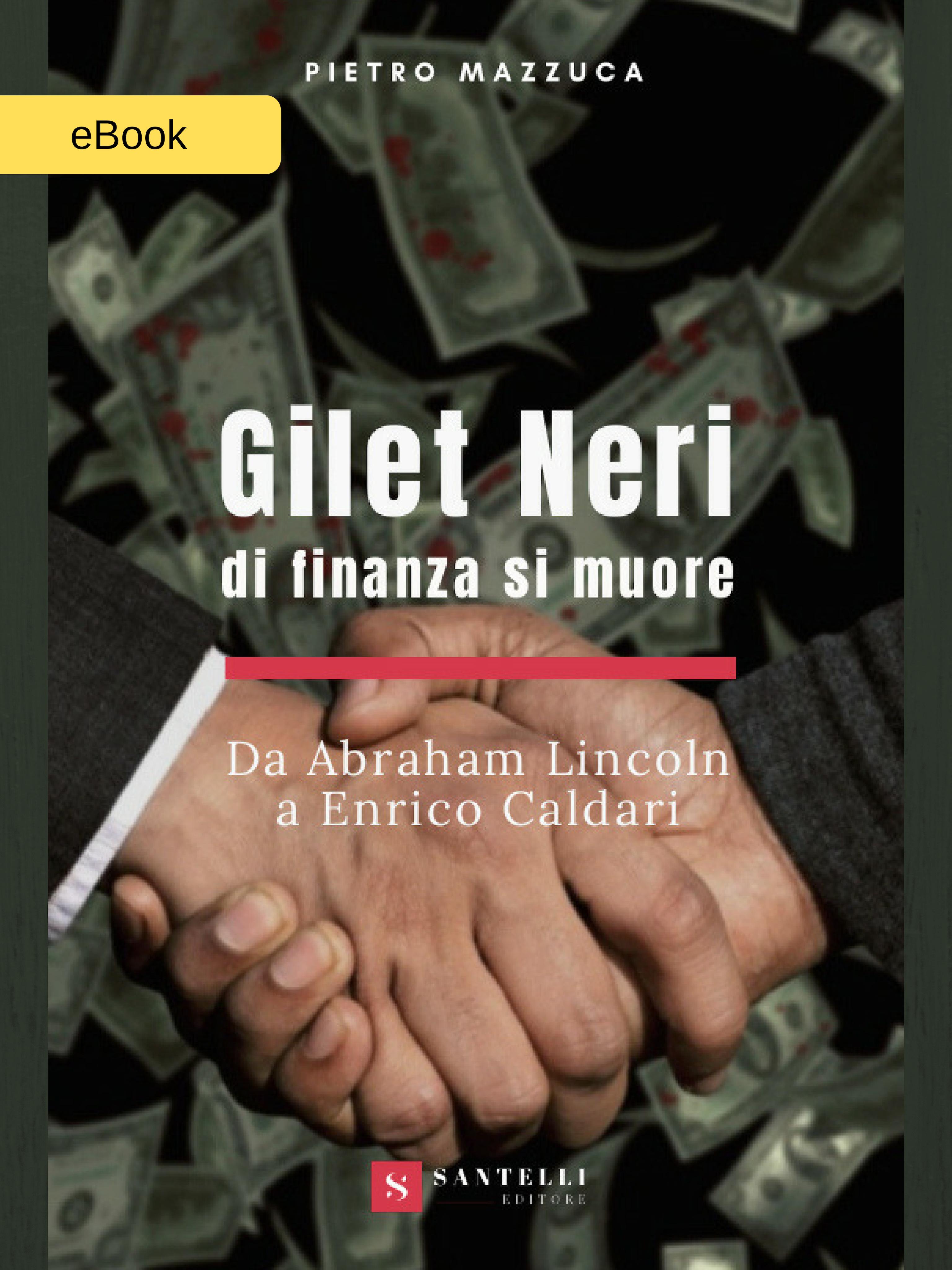 Gilet neri (eBook), Pietro Mazzuca - coverfront