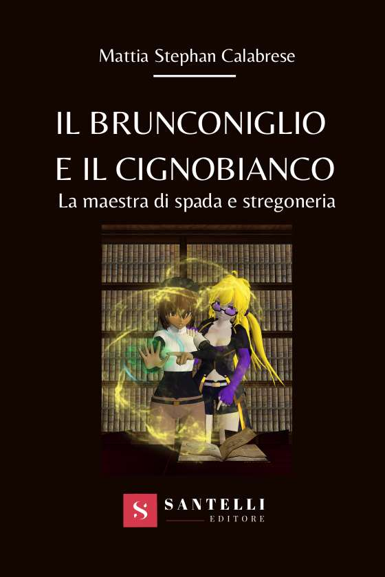 Il brunconiglio e il cignobianco, Mattia Calabrese - coverfront