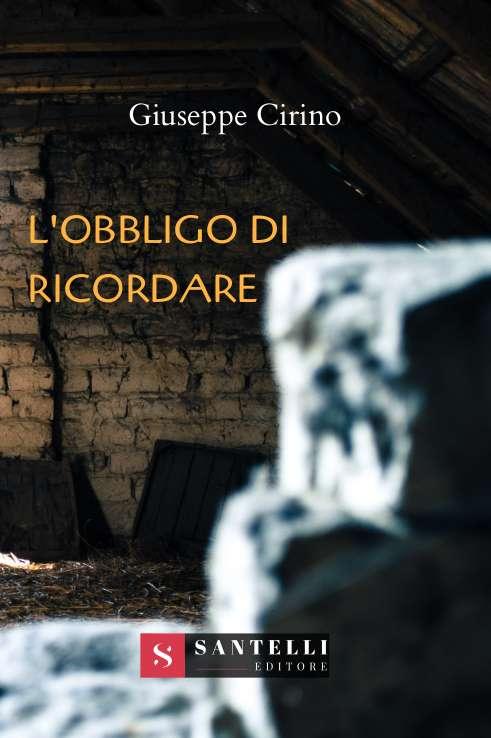 L'obbligo di ricordare, Giuseppe Cirino - COVER FRONT