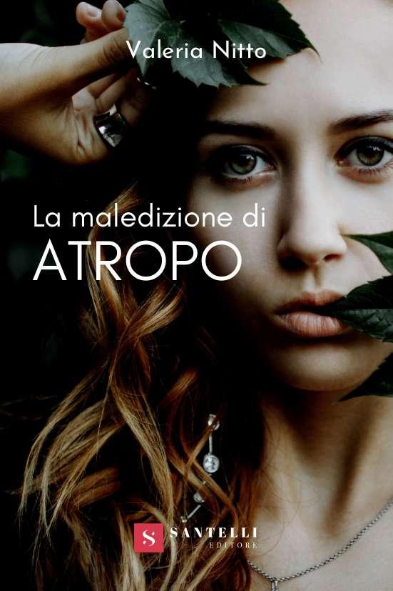 La maledizione di Atropo, Valeria Nitto - cover front