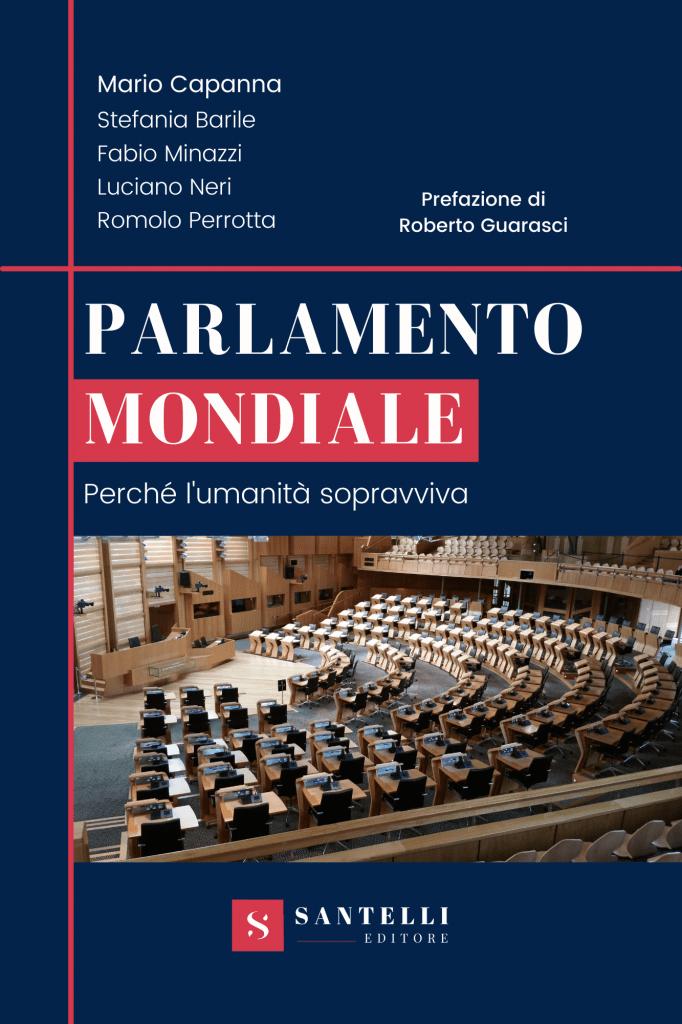 """Mario Capanna su Stasera Italia per """"Parlamento mondiale. Perché l'umanità sopravviva"""""""
